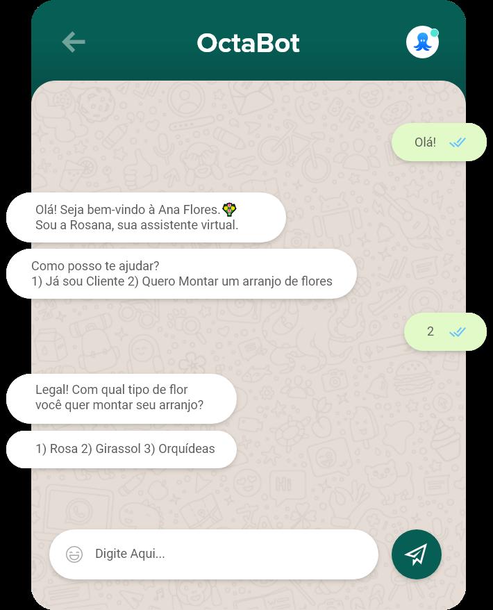 Chatbot +  automações